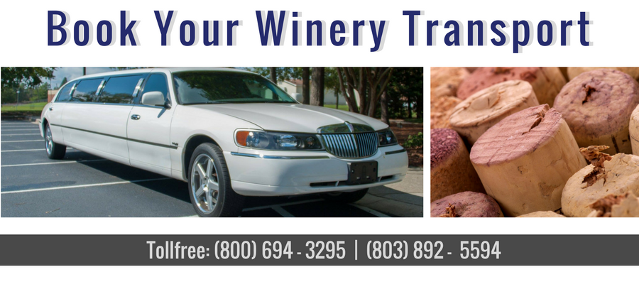 Reserve your ride for a winery tour with Limo Sales & Service in Columbia, SC.